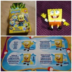 Robo SpongeBob Playset recensie review Robo Turtle zwemmen dansen Goliath onderwaterwereld vriendje bioscoop televisie SpongeBob Squarepants speelkameraad water armbewegingen