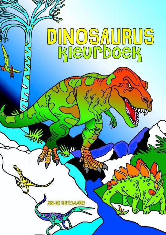 Dinosaurus Kleurboek Recensie Wij Testen Het