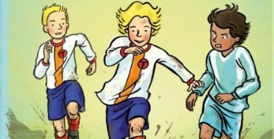 Koen Kampioen Snel naar de top Fred Diks Kluitman recensie review voorwoord Wesley Sneijder zelf lezen AVI M5 AVI E5 verhuizen atletiek sponsorloop trainingen kunstgras geld organiseren vriendschap atletiekbaan spelen voetbal voetbalfans