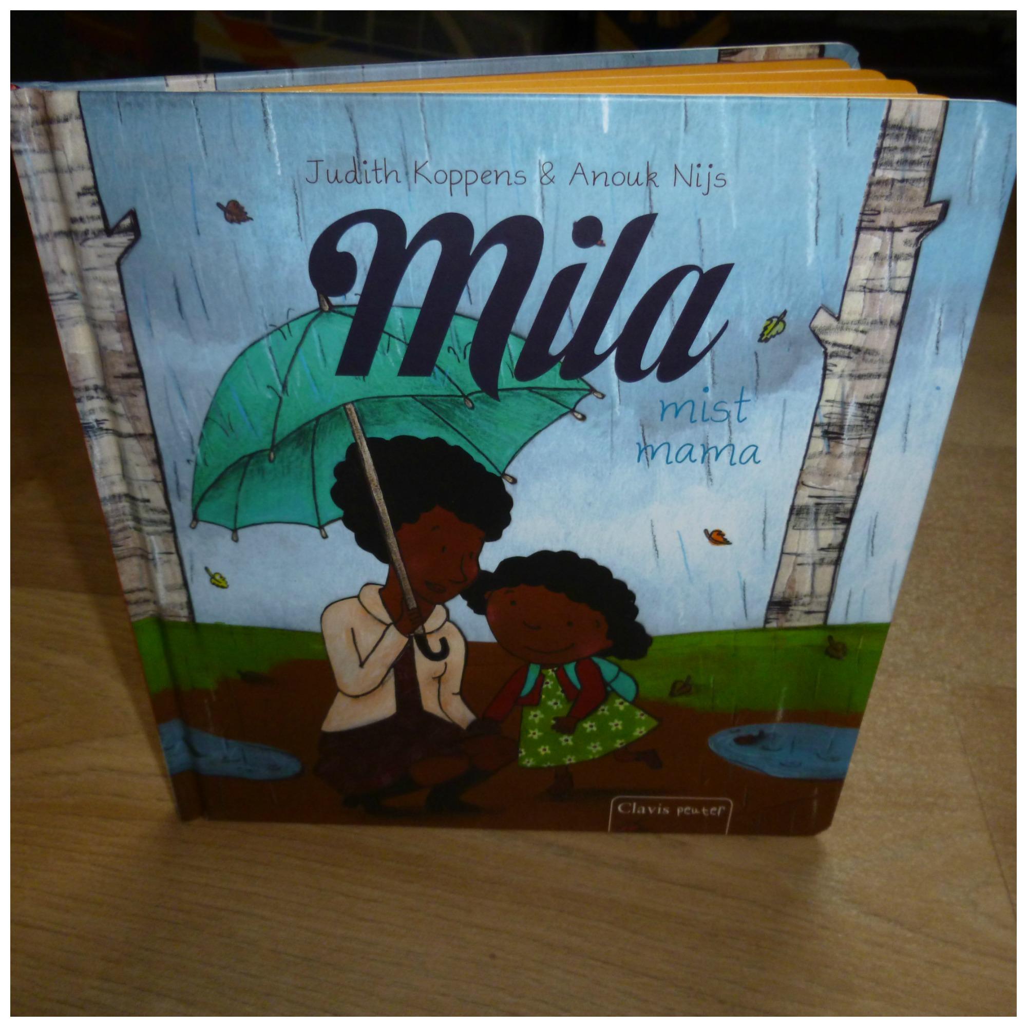 f44320ee48d Mila mist mama Judith Koppens Clavis prentenboek recensie review emoties  buikpijn puzzel spelen juf vertederend eenvoudig