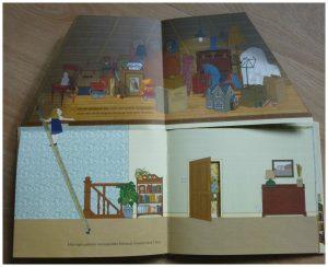 Oma 39 s huis schitterend prentenboek met doorkijkjes recensie for Trap doorsnede