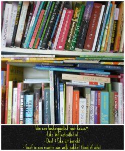 Win een boekenpakket naar keuze * winnen winactie doe mee kinderen kinderpakket leeftijd volwassenpakket genre Woensdag Windag