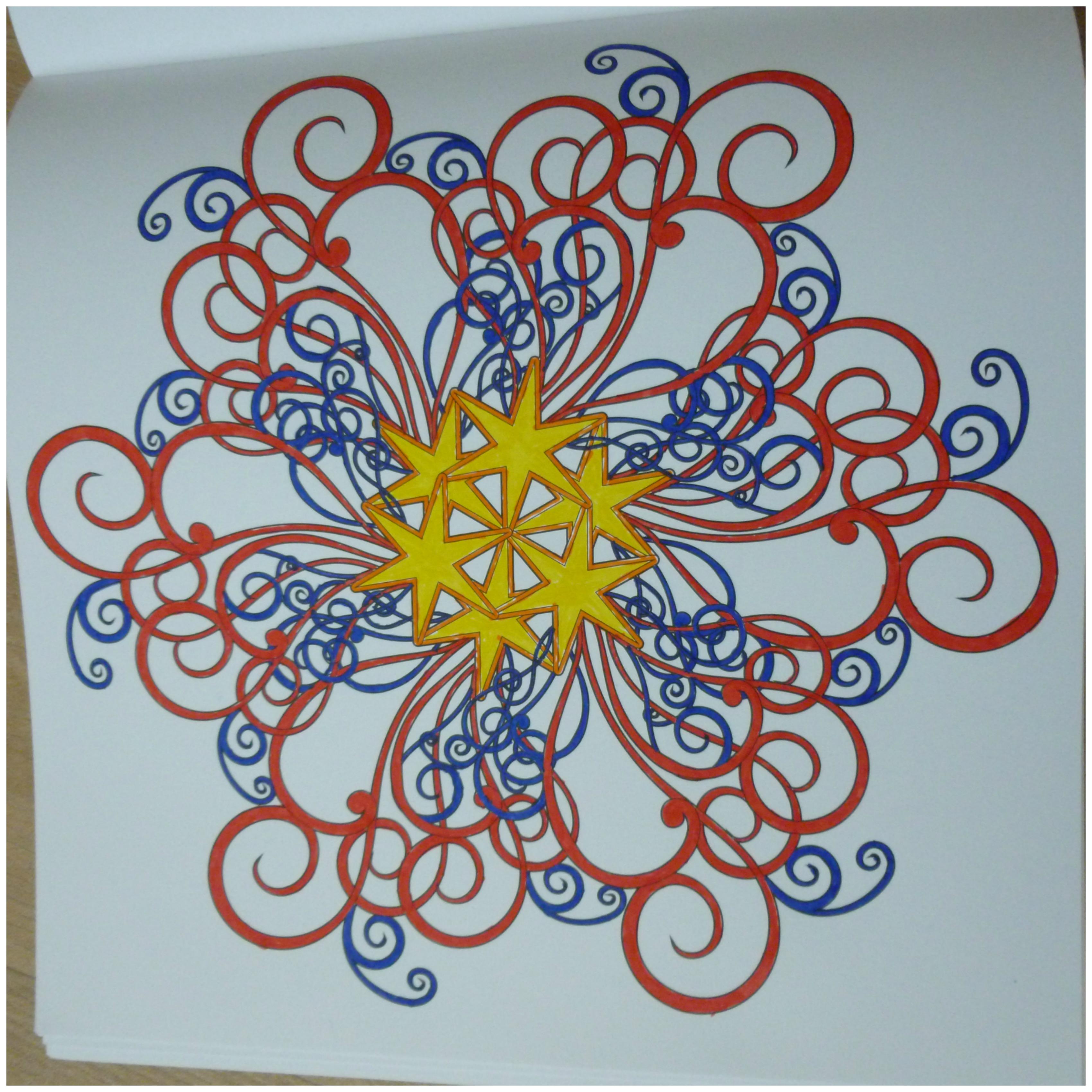 Kleurplaten Uit Kleurboek Voor Volwassenen.Het Vijfde Enige Echte Mandala Kleurboek Recensie