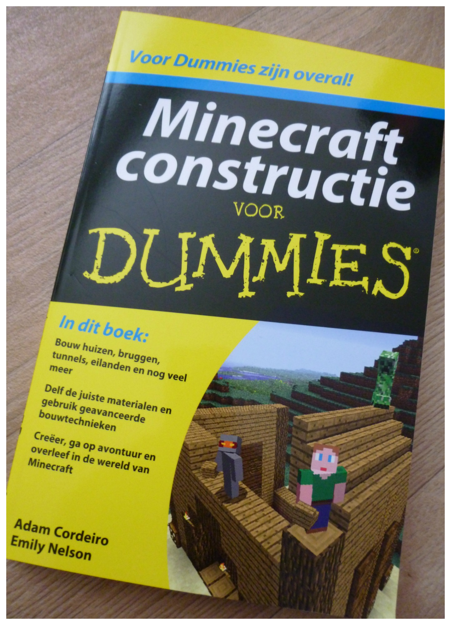 Verwonderend Minecraft constructies voor Dummies [recensie] PA-15