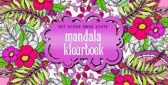 Kleurplaten Volwassenen Ingekleurd.Het Vijfde Enige Echte Mandala Kleurboek Recensie