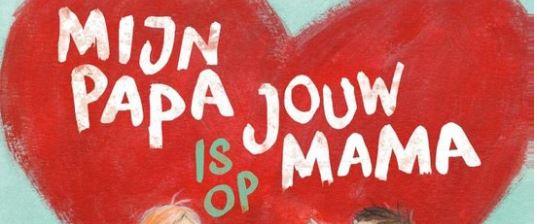 Mijn papa is op jouw mama Ilona Lammertink Clavis recensie review prentenboek weduwe gescheiden moeder overleden mama vader opgroeien gevoelens kinderen emoties vriendinnetje juf liefde verdriet vragen ouders leerkrachten ouders stiiefouders verzorgers praktisch informatie kind voorlezen
