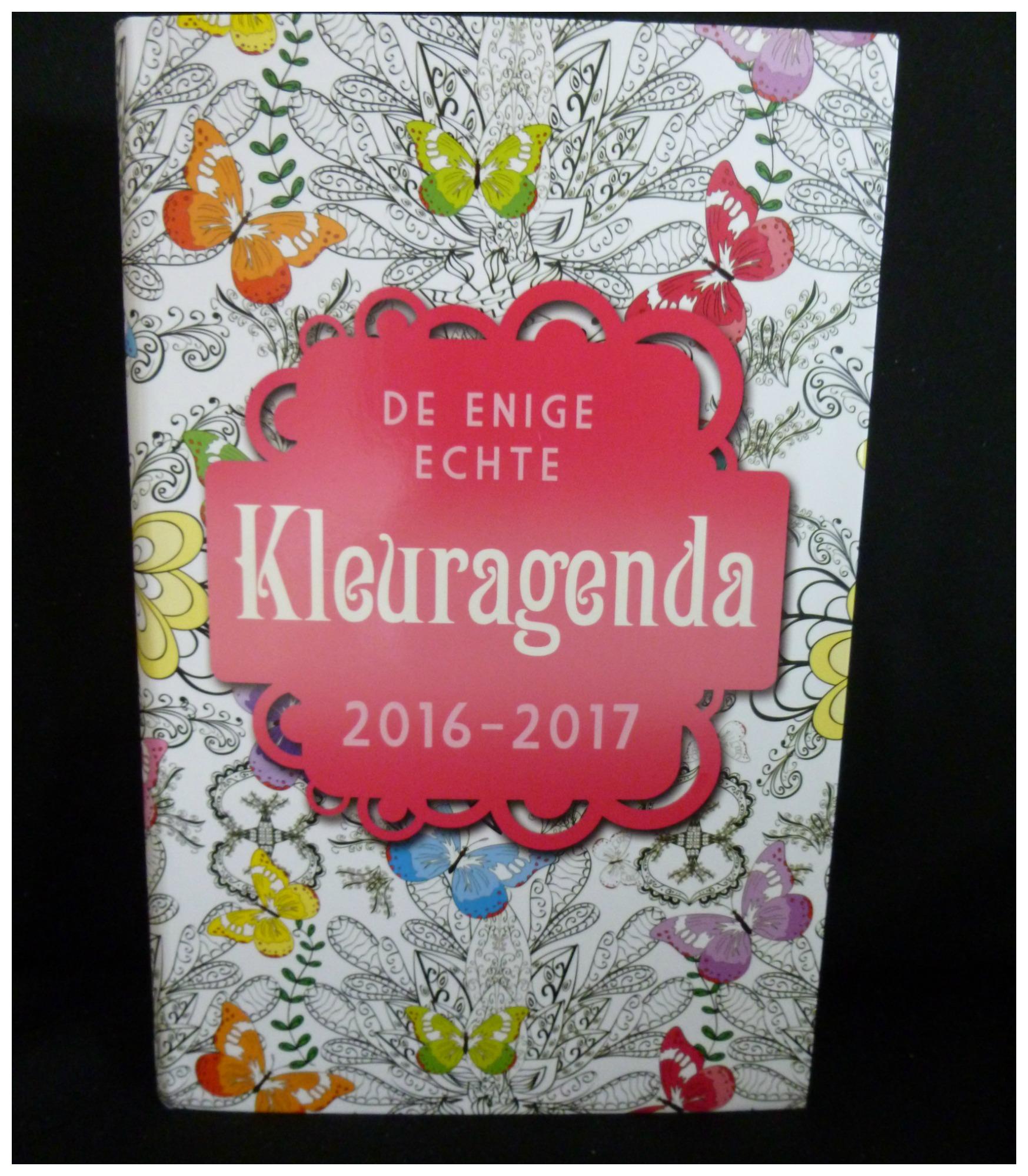 De Enige Echte Kleuragenda 2016 2017 Recensie