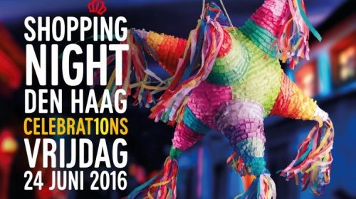 Shopping Night Den Haag Celebrations winkelen shoppen evenement Zuid-Holland
