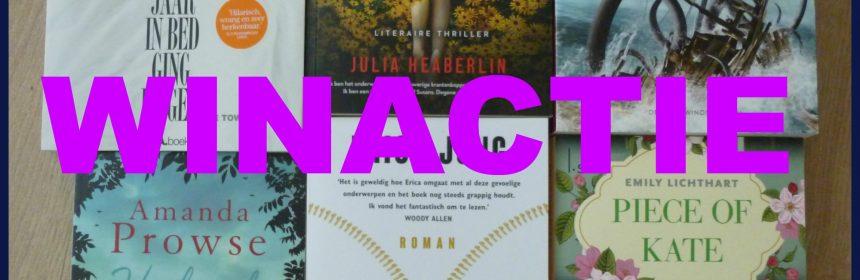 Zomervakantie leesvakantie? Doe mee met deze winactie winnen woensdag windag prijsvraag lezen zomer genre boeken