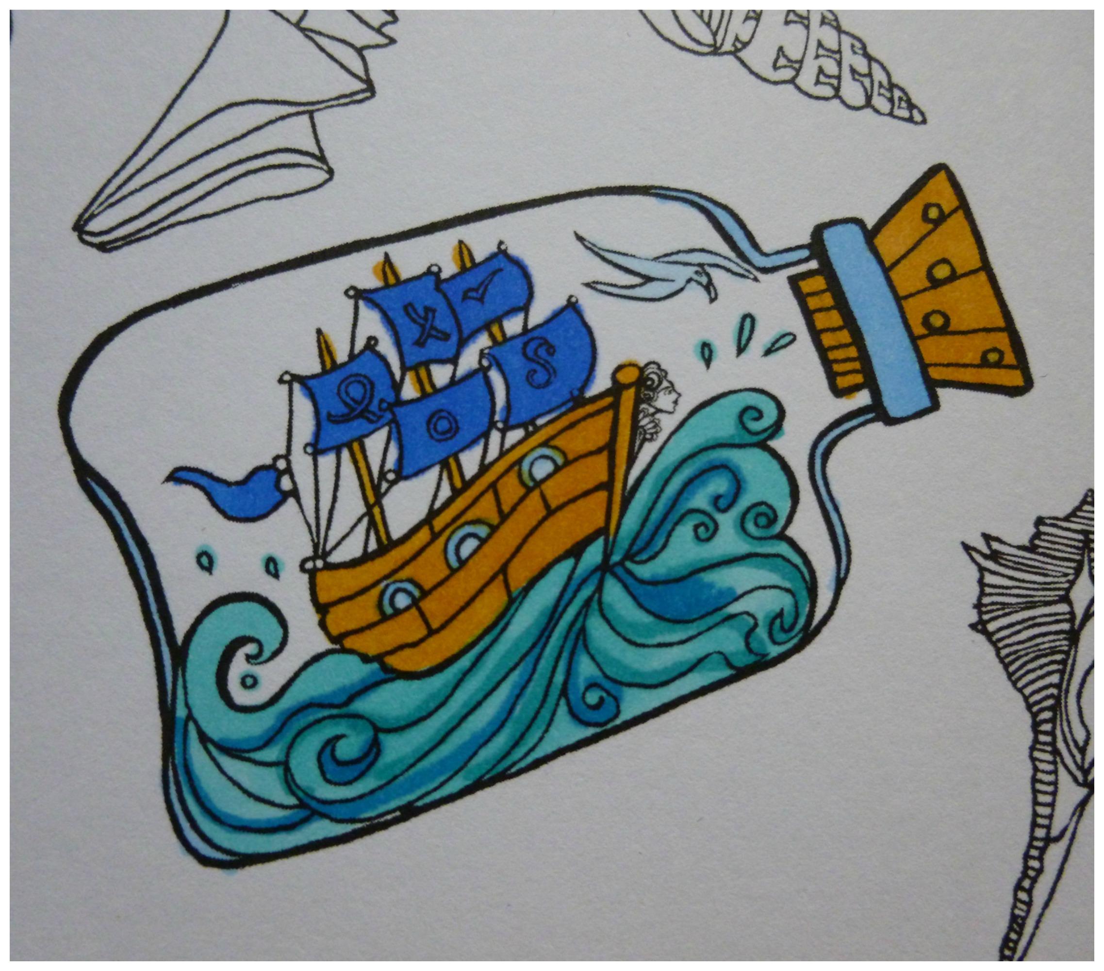 golven en branding
