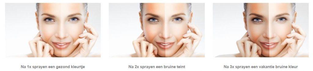 Cachet Cosmetics Sun tanning spray zelfbruiner opbouwen vakantie zon eenvoudig geur opbouwen pigment dagen wintermaanden huid natuurlijke ingrediënten 100 % veilig UV straling egaal zonnebaden zonnebank