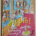 Jippie! Een humeurig sprookje Sanne Rooseboom Van Holkema & Warendorf recensie review prinsessen chagrijnig vrolijk blij land prins man buurland witte paard zoektocht partner afgelachen