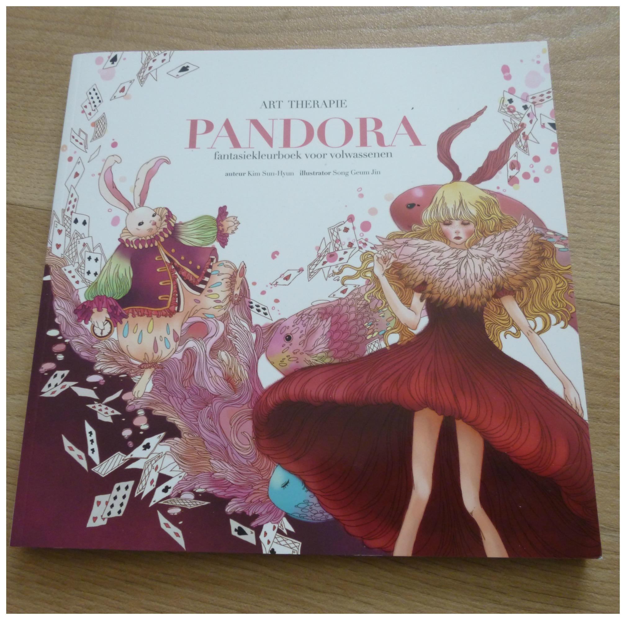 Kleurplaten Fantasie Volwassenen.Pandora Fantasiekleurboek Voor Volwassenen Recensie