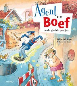 Agent en Boef en de gladde grapjes cover