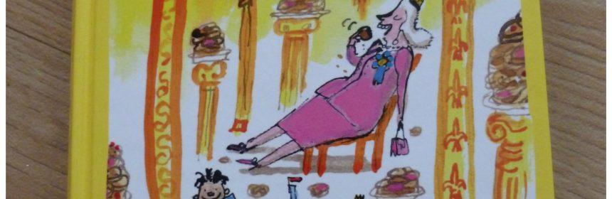 De keukenprins van Mocano: Koekjes voor de Koningin gevangeniskeuken belevenissen majesteit Het geheim achter het fornuis problemen avontuur bezoek uitleg tekst tekeningen ladder grappig namen lach gezicht lezer feit gevangenis spanning gevangenispersoneel perfect stress mix spanning humor hilarische tekeningen kinderen plezier recensie review Lannoo Mathilda Masters Georgien Overwater