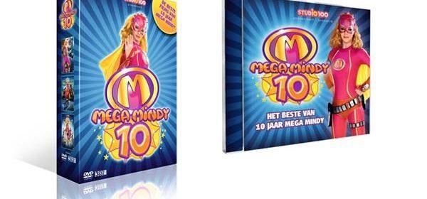 Mega Mindy 10 jaar verzamel-CD Het beste van 10 jaar Mega Mindy De beste films van 10 jaar Mega Mindy