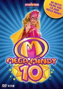 Het beste van 10 jaar Mega Mindy De beste films van 10 jaar Mega Mindy Studio 100 feestje gevierd jubileumbox DVD CD verzamel-CD