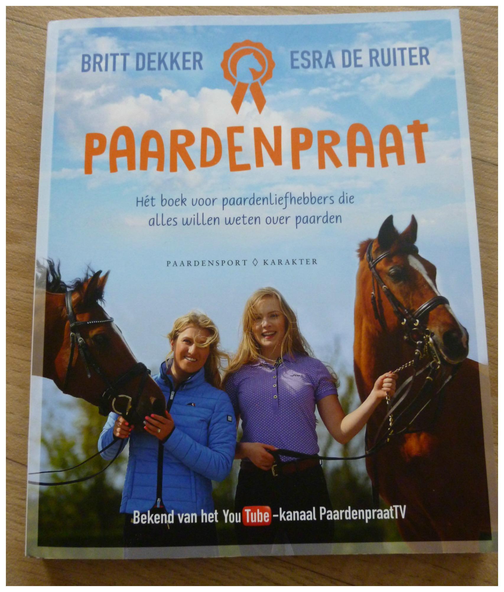 Paardenpraat Het Boek Van Esra Amp Britt Van Paardenpraattv