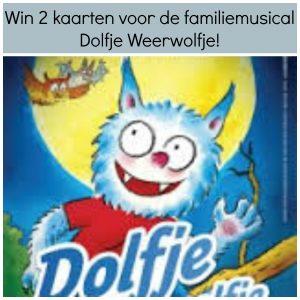 Win 2 kaarten voor de familiemusical Dolfje Weerwolfje! winactie Dolfje Weerwolfje de musical win twee kaarten voor de familiemusical Dolfje weerwolfje theater naar keuze speellijst