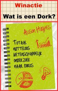 Winactie Totaal nutteloos wetenschappelijk onderzoek naar Dorks winnen uitgeverij van Holkema & Warendorf Facebook lachen wat zijn dorks