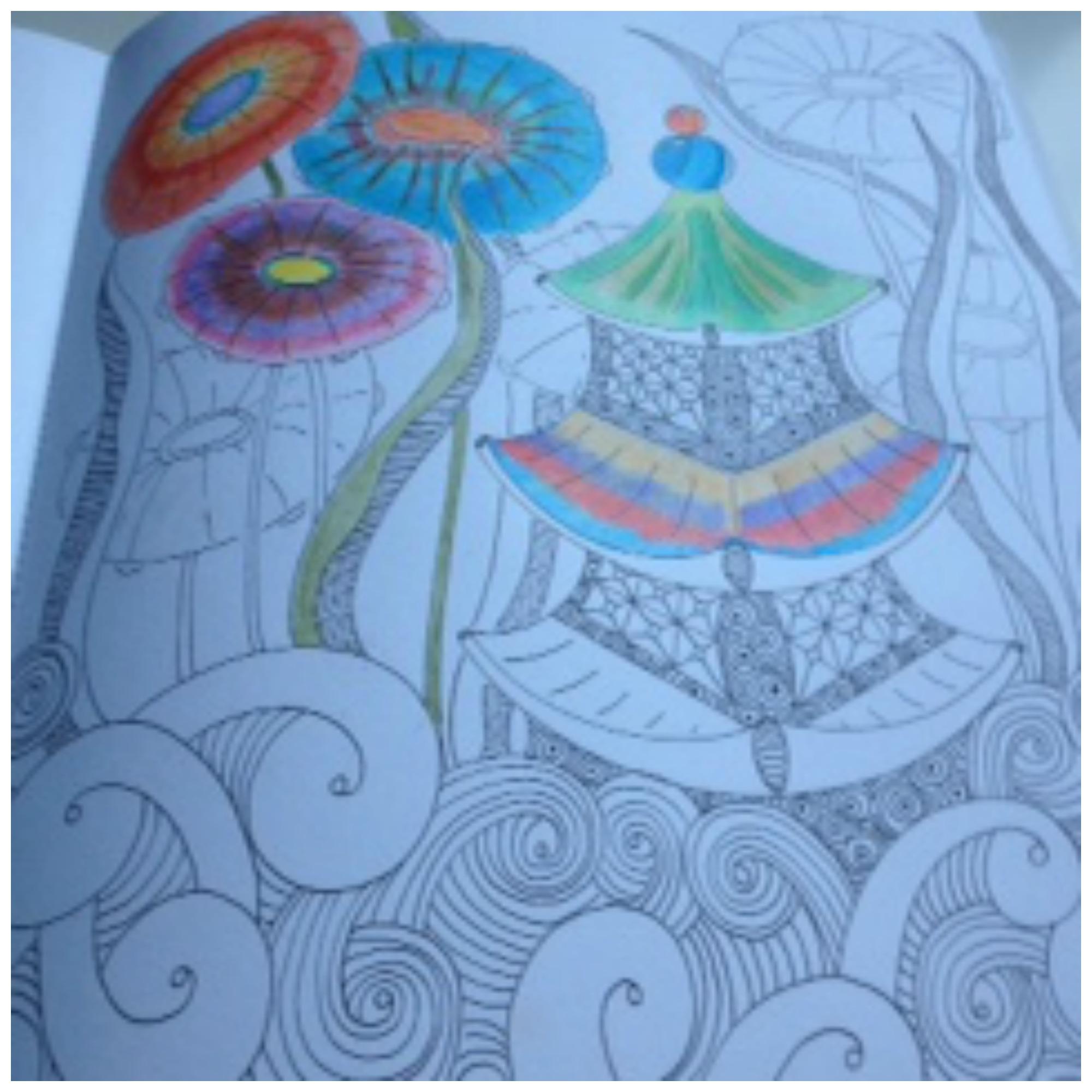 Kleurplaten Voor Volwassenen Olifant Gekleurd