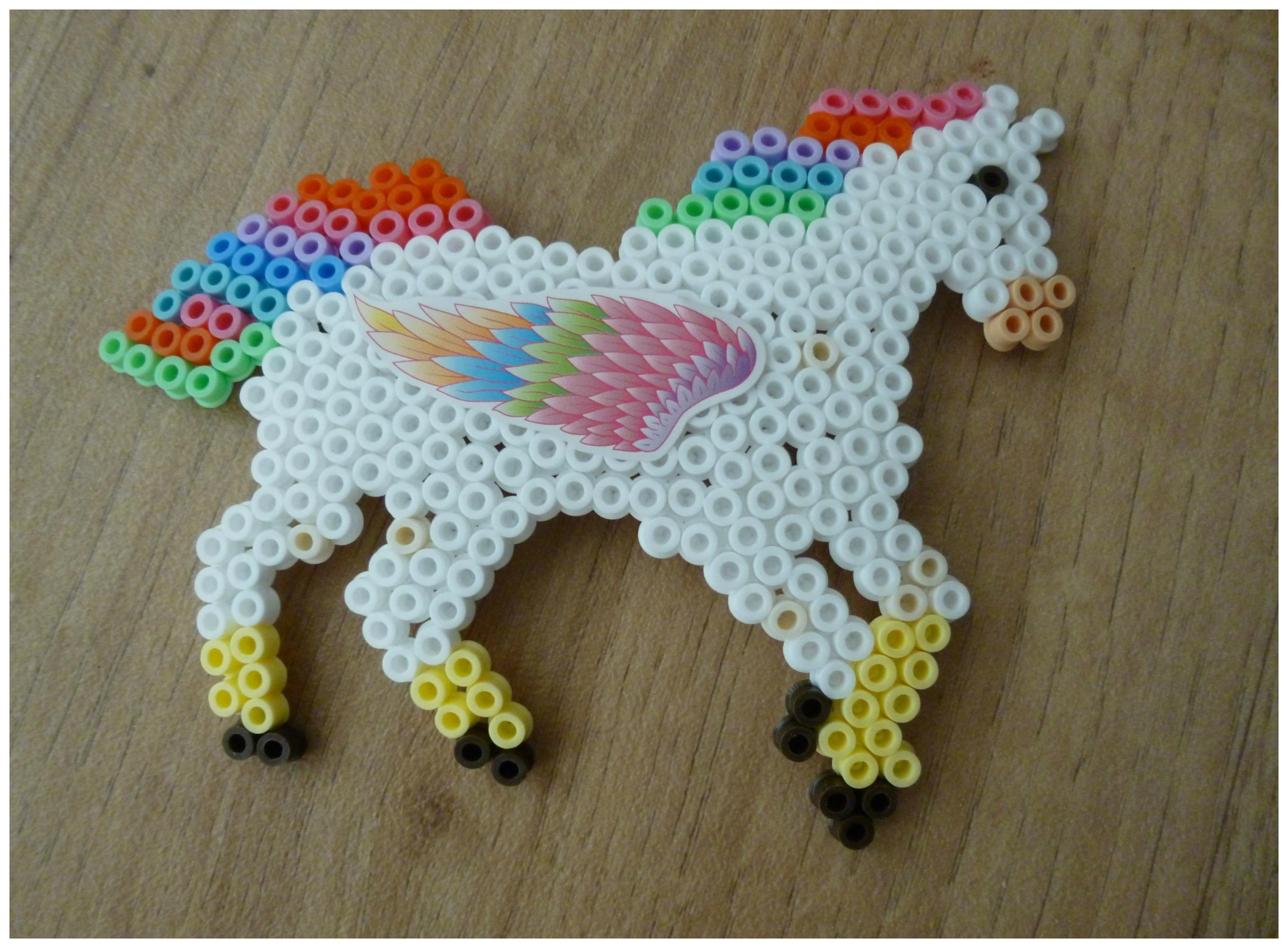 makkelijk strijkkralen paard