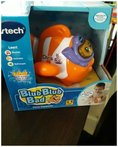 VTech Blub Blub Bad Chris Clownvis speelset 1+ bad Splash Points recensie review