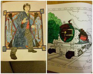 Harry Potter Magische Plekken en Personages Kleurboek BBNC Kleuren voor volwassenen