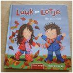 Luuk en Lotje Het is herfst Ruth Wielockx prentenboek Clavis recensie review jaargetijde