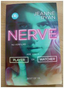Nerve Jeanne Ryan Van Goor recensie review thriller
