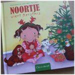 Noortje viert Kerstmis Annemarie van der Heijden Baby en Peuterboek prentenboek Clavis recensie review feestdagen kerstboom