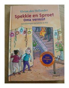 Spekkie en Sproet: Oma vermist Vivian den Hollander Ploegsma recensie review
