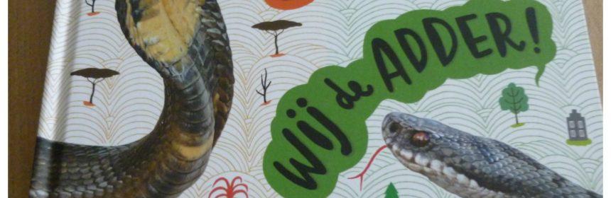 Zij de cobra? Wij de adder! Geert-Jan Roebers Gottmer recensie review natuur