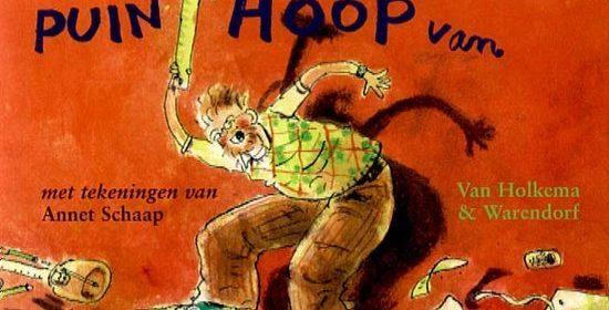 Meester Jaap maakt er een puinhoop van Jacques Vriens Zelf Lezen Van Holkema & Warendorf recensie review