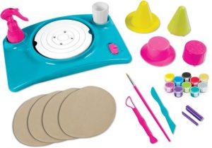 Pottery Cool Spin Master recensie review 6+ pottenbakken kinderen klei kunstwerkjes