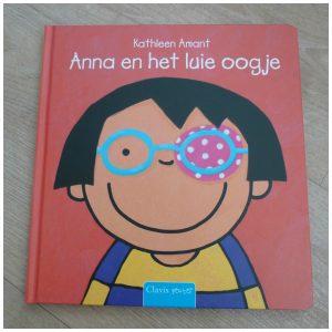 Anna en het luie oogje Katleen Amant Clavis recensie review lui oog prentenboek oogarts pleister bril