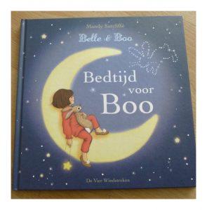 Belle en Boo Bedtijd voor Boo Mark Sperring De Vier Windstreken prentenboek recensie review slapen gaan