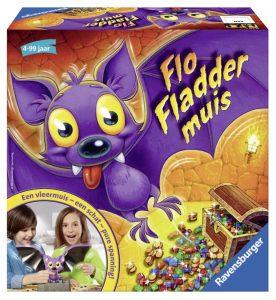 Flo Fladdermuis Ravensburger gezelschapsspel 4+ recensie review spelletje edelstenen vleermuis