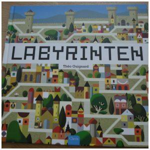 Labyrinten doolhof Théo Guignard Clavis zoeken spoorzoekers recensie review vinger volgen oplossingen