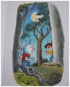 Dolfje Weerwolfje MaanMysterie Paul van Loon recensie review Leopold leesboek zelf lezen verliefd volle maan