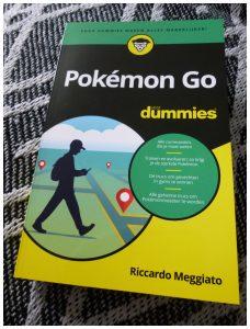 Pokémon Go voor Dummies Riccardo Meggiato Hobby BBNC spellers boekje tips basis verdieping informatie wezentjes game ontdekken evolueren
