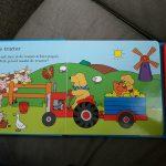 Dribbels Voertuigen Geluidenboek Eric Hill Unieboek Kartonboek geluidenboek vriendjes recensie review