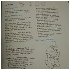 EHBK* Eerste Hulp Bij kleine Kinderen Dr. Sofie Vanderoost Lannoo EHBO handboek recensie review