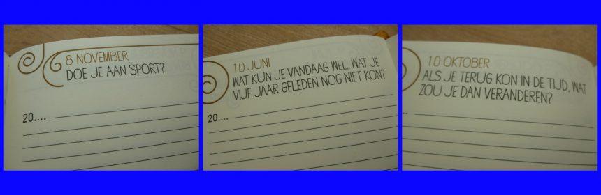 Elke dag een vraag (luxe editie) Julie bergen Dagboek BBNC recensie review vijf jaar invullen cadeau