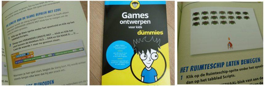Games ontwerpen voor Kids voor Dummies Derek Breen BBNC recensie review