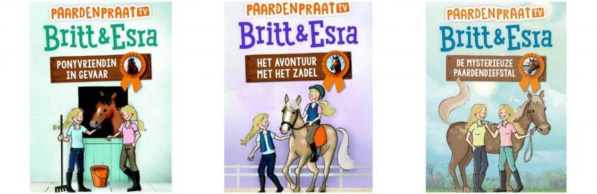 Britt en Esra Het avontuur met het zadel Joke Reijnders Karakter Uitgeverij leesboek recensie review serie reeks PaardenpraatTV