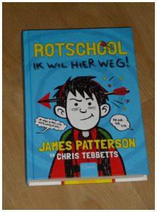 Rotschool: Ik wil hier weg James Patterson Chris Tebbets Clavis recensie review Rotschool: De ergste jaren van mijn leven graphic novel