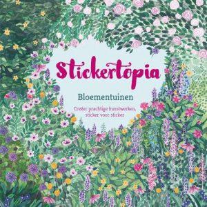 Stickertopia Bloementuinen Angela McKay BBNC stickeren plakken hobby ontspanning volwassenen recensie review