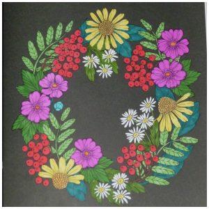 Botanische Tuin Kleurboek Maria Trolle kleuren voor volwassenen BBNC recensie review