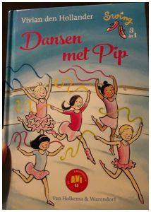 Dansen met Pip Swing 3 in 1 Vivian den Hollander Leren Lezen AVI E3 Van Holkema & Warendorf recensie review